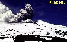Ruapehu eruption