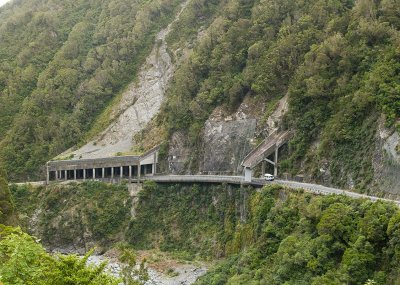 Otira Gorge Rock Shelter and Reid Falls aqueduct